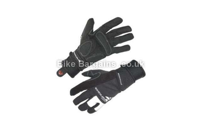 Endura Deluge Winter Cycling Glove XS, black