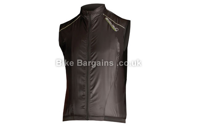 Endura Equipe Black Cycling Gilet black, XXL