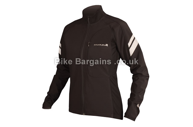 Endura Ladies Windchill II Roubaix Cycling Jacket XS,S,M,L, Black