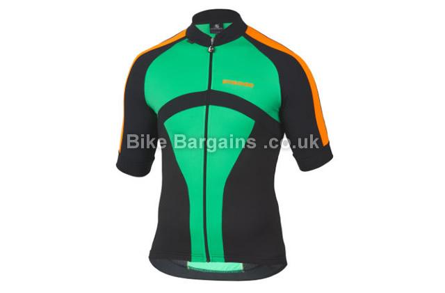 Etxeondo Oin Short Sleeve Cycling Jersey S, Green