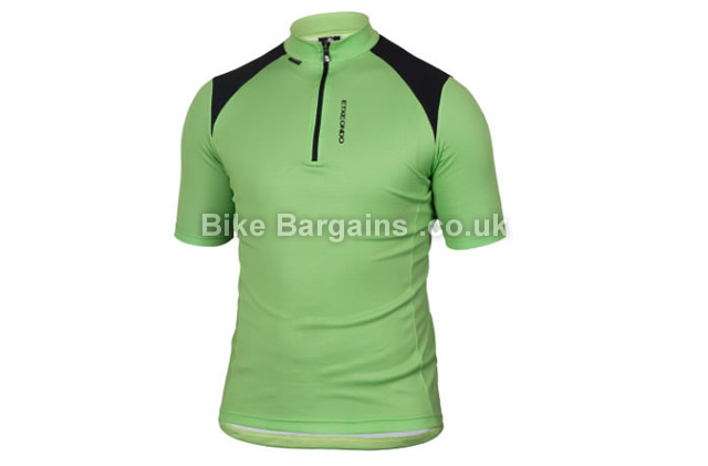 Etxeondo Open Short Sleeve Cycling Jersey S, Green