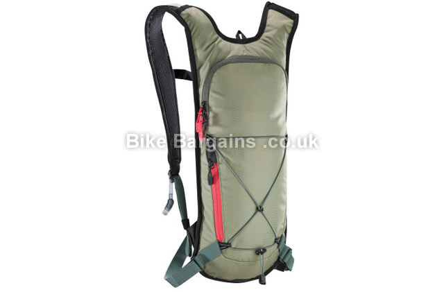 Evoc CC Team 3 Litre Hydration Pack With 2 Litre Bladder green, 2 litre
