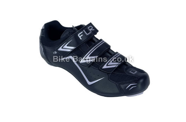 FLR F-35 Race Road Cycling Shoes 2015 43, white, black