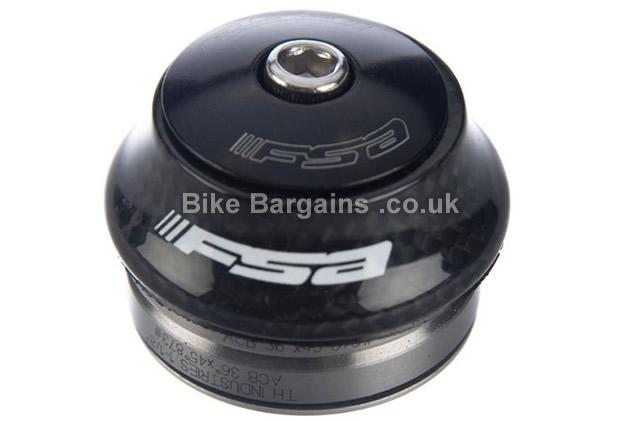 FSA Orbit I Carbon Road Headset black, no top cap