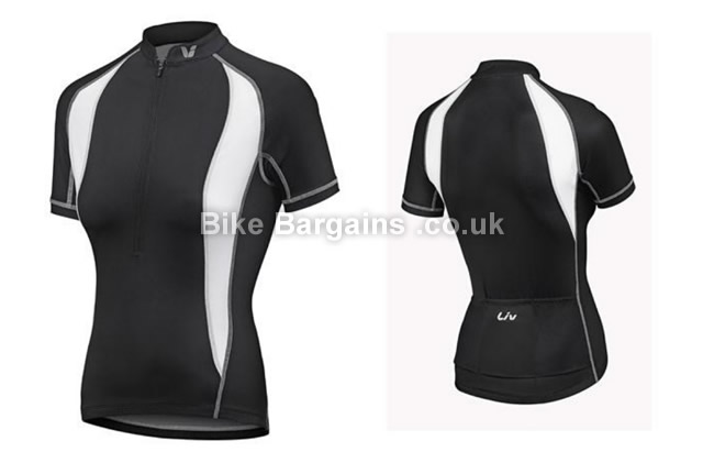 Giant Liv Vento Ladies Short Sleeve Cycling Jersey black, S