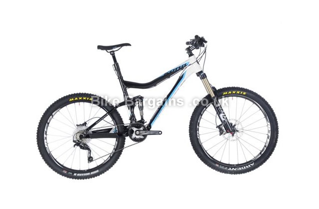 "Kona Cadabra Full Suspension 26 inch Mountain Bike 2013 19"", black"