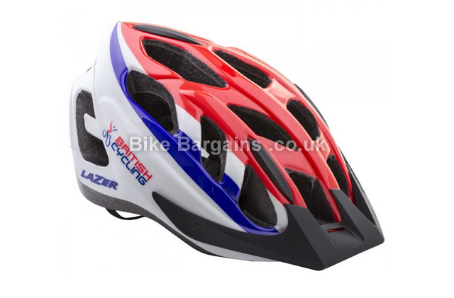 Lazer Cyclone S British Cycling Union Jack Helmet M, L