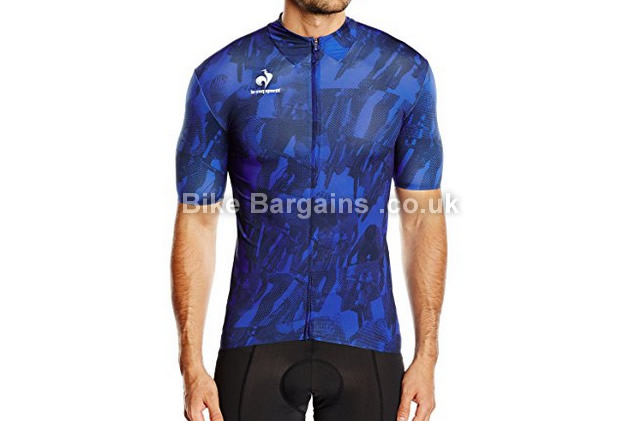 8826a74ff36 Le Coq Sportif Ares Short Sleeve Jersey was sold for £27! (M, Blue)