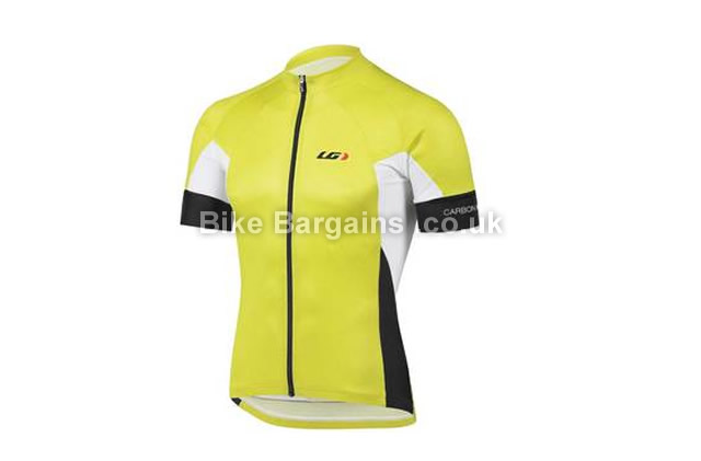 Louis Garneau Performance Carbon Short Sleeve Cycling Jersey S,M,XL,XXL, grey