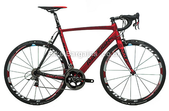 Raleigh Militis Team Carbon SRAM Red 22 Road Bike 2016 53cm, 55cm, 57cm, red