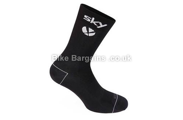 Rapha Team Sky Pro Cycling Socks 2016 black, S,XL