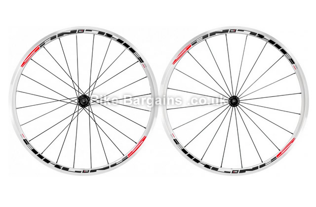 Rodi Airline 5 Clincher Road Wheelset white, 9/10/11 speed