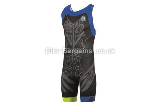 Santini Yojo Aero Zipless GTR Triathlon Trisuit black, L, XL