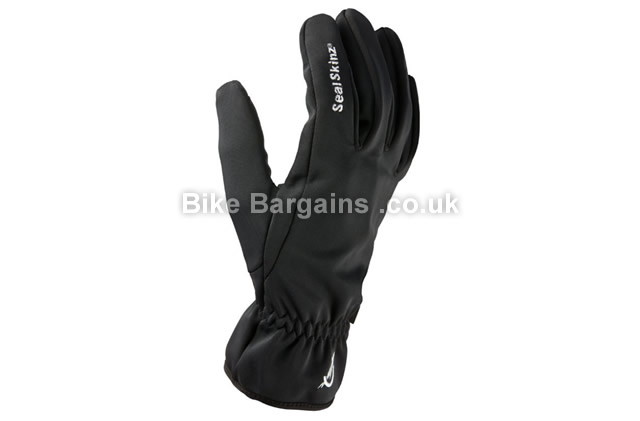 Sealskinz Ladies Windproof Cycling Gloves black, XL