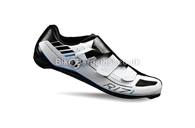 Shimano R171 Racing SPD-SL Road Cycling Shoes 38, black, white