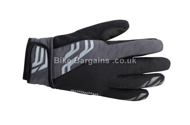 Shimano Waterproof Rain Cycling Gloves black, S