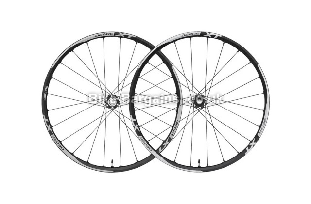 "Shimano XT MTB Wheelset Front and Rear front and rear, 26"", 29"""