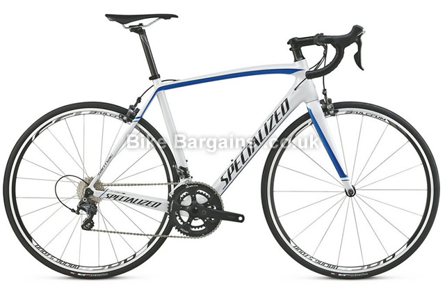 Specialized Tarmac Comp Racing Carbon Road Bike 2015 56cm, white, blue