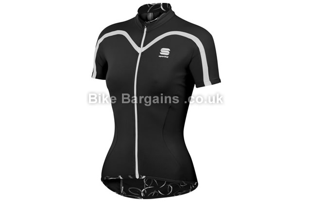 Sportful Charm Ladies Short Sleeve Cycling Jersey black, L