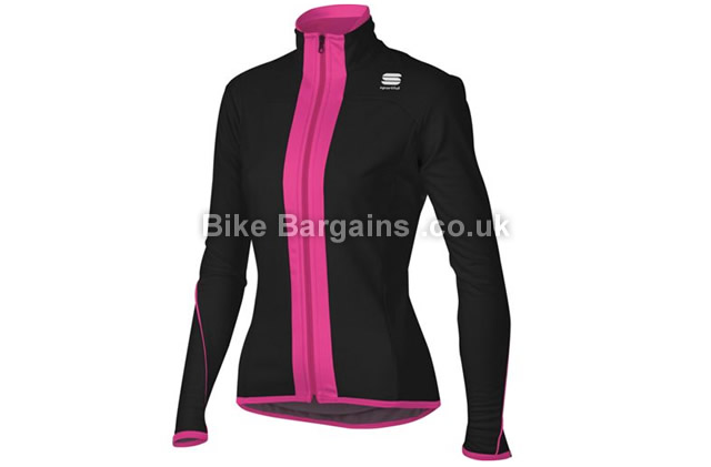 Sportful Ladies Show SoftShell Cycling Jacket 1 left! M, black
