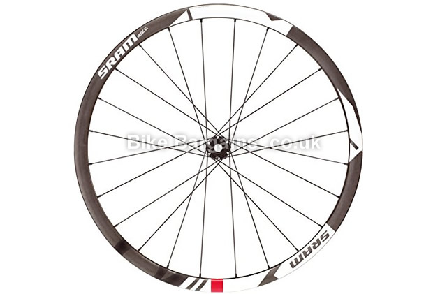"Sram Rise 60 26 inch Carbon Tubeless MTB Front Wheel 26"", carbon"