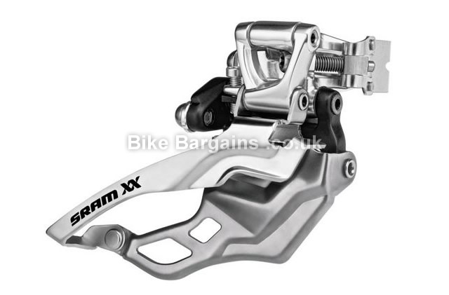 SRAM XX Double 10 speed High Clamp MTB Front Mech 31.8mm