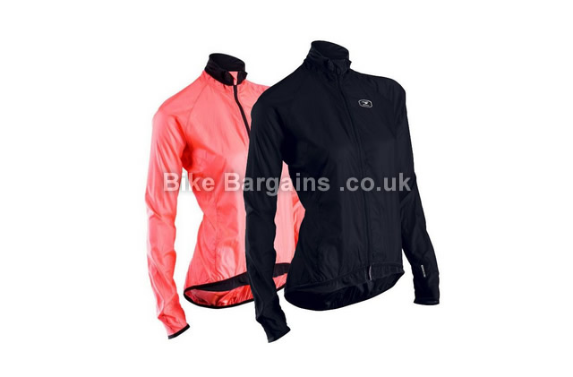 Sugoi Rs Ladies Cycling Wind Jacket pink, black, S
