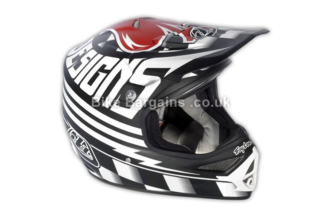Troy Lee Designs Air Full Face Helmet S, ace black