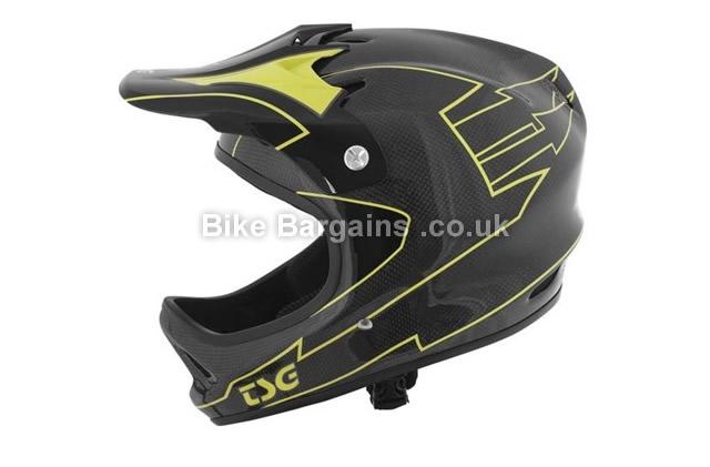 TSG Staten Carbon Full Face Mountain Bike Helmet black, XL