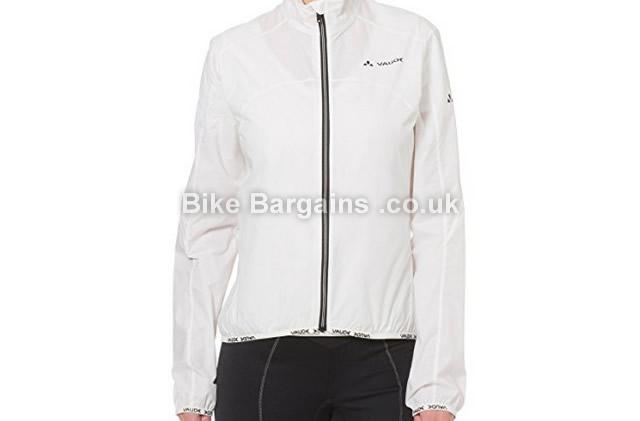 Vaude Ladies Air Windproof Cycle Jacket 40, white