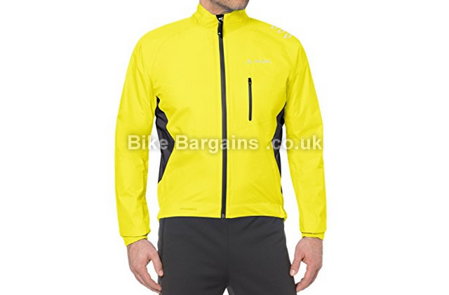 Vaude Spray Bike Cycling Rain Jacket IV yellow, S