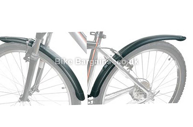 """Zefal Classic MTB 26 inch Mudguards front and rear, 26"""""""