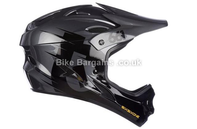 661 Comp Black Full Face MTB Helmet 2016 XS,S,M,L,XL, black