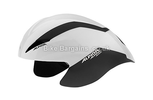 Alpina Elexxion Time Trial Aero Cycling Helmet white, black
