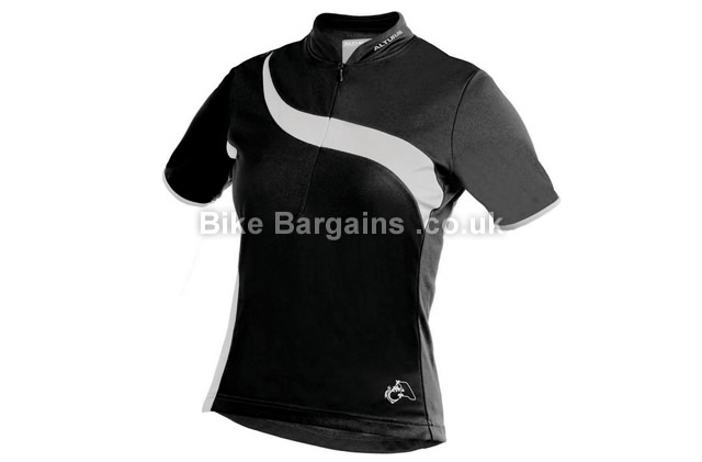 Altura Ladies Spirit Short Sleeve Jersey 8,10,12,14,16, Blue, White, Black, Short Sleeve