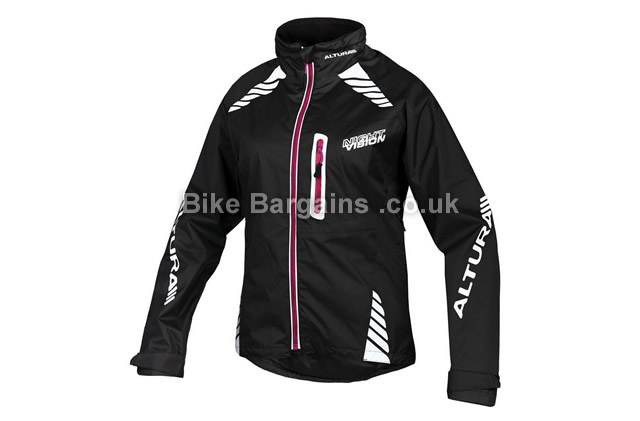 Altura Night Vision Ladies Waterproof Cycling Jacket black, 8