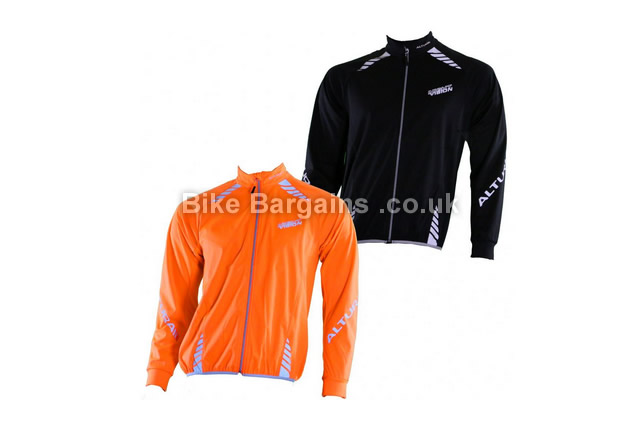 Altura Night Vision Windproof Cycling Jacket orange, black, S,M