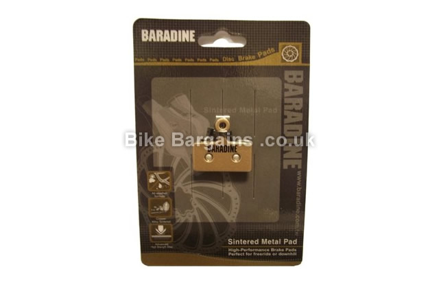 Baradine Shimano XTR Sintered Disc Brake Pads 2011