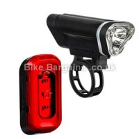Blackburn Local 50 and 10 Front Rear Cycling Light Set