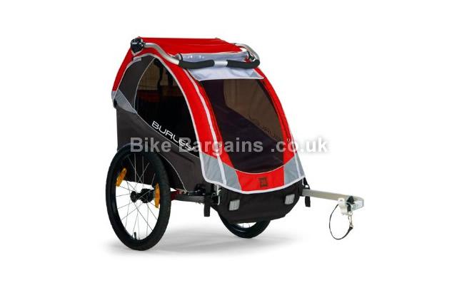 Burley 939301 Solo Kids Bike Trailer red
