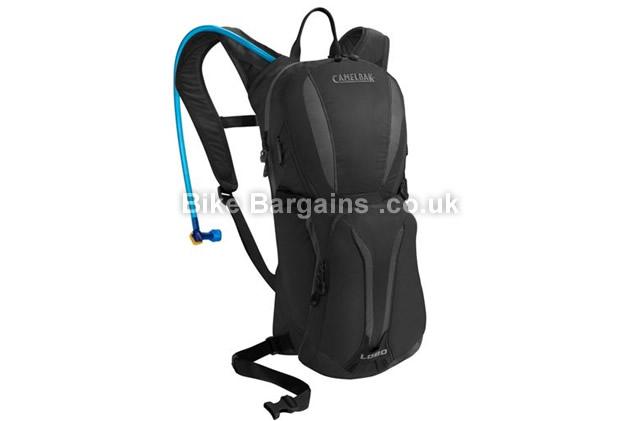 Camelbak Lobo Cycling Hydration Backpack Black, Orange, White