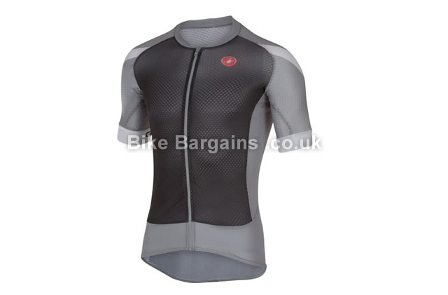Castelli Climbers 2.0 FZ Short Sleeve Jersey M,XL