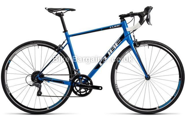 Cube Attain 6061-T6 Alloy Road Bike 2016 58cm, blue