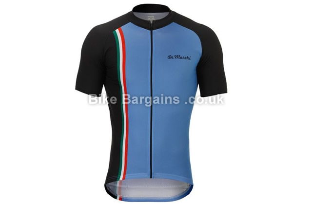 De Marchi Stripe Short Sleeve Cycling Jersey 2016 XL
