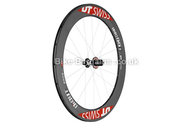 DT Swiss RRC 66 Di-Cut Tubular 700c Rear Road Wheel carbon, 700c