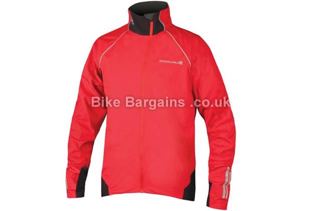 Endura Helium Waterproof Breathable Jacket 2015 S,XXL, red