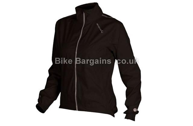 Endura Ladies Waterproof Photon Packable Jacket L, black
