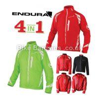 Endura Luminite 4 In 1 Windproof Waterproof Jacket