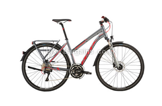 Felt QX100 EQ Ladies City Hybrid Bike 2016 44cm, grey