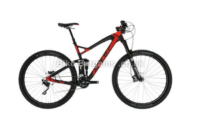 """Felt Virtue 3 Full Suspension Mountain Bike 2016 16"""", 20"""", black"""
